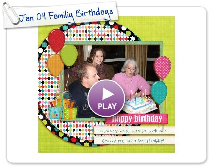 Click to play this Smilebox scrapbook: Jan 09 Familiy Birthdays