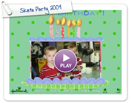 Click to play this Smilebox slideshow: Skate Party 2009