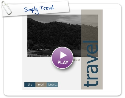 Click to play this Smilebox photobook: Simply Travel
