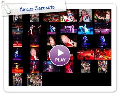 Click to play this Smilebox slideshow: Circus Sarasota