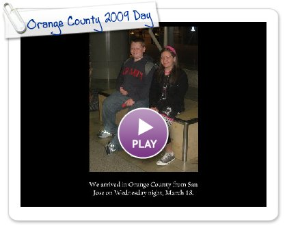 Click to play this Smilebox slideshow: Orange County 2009 Day 1