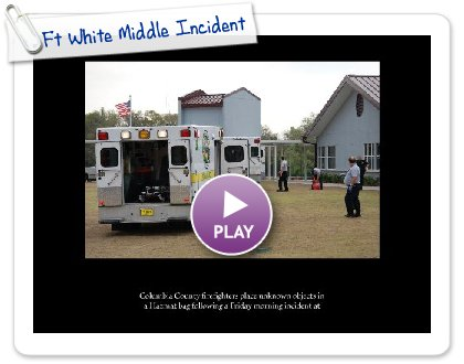 Click to play this Smilebox slideshow: Ft White Middle Incident