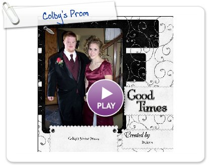 Click to play this Smilebox scrapbook: Colby's Prom