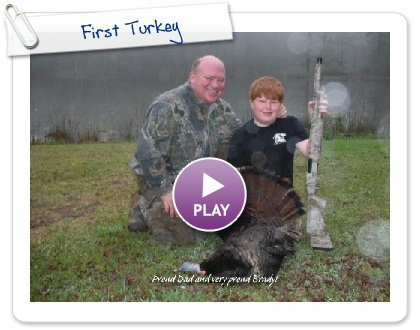 Click to play this Smilebox slideshow: First Turkey