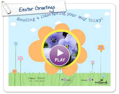 Click to play this Smilebox greeting: Easter Greetings
