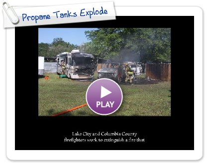 Click to play this Smilebox slideshow: Propane Tanks Explode