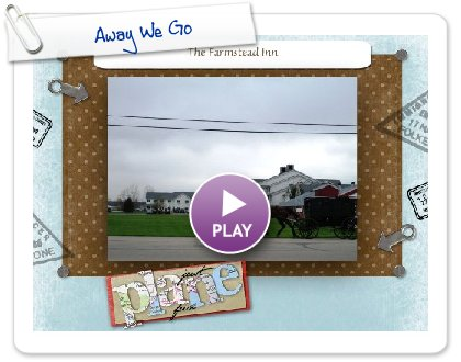 Click to play this Smilebox slideshow: Away We Go