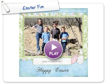 Click to play this Smilebox scrapbook: Easter Fun