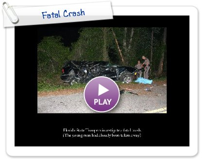 Click to play this Smilebox slideshow: Fatal Crash