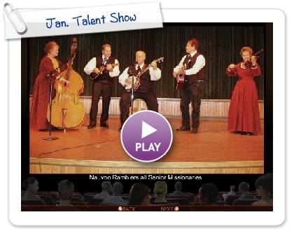 Click to play this Smilebox slideshow: Jan. Talent Show