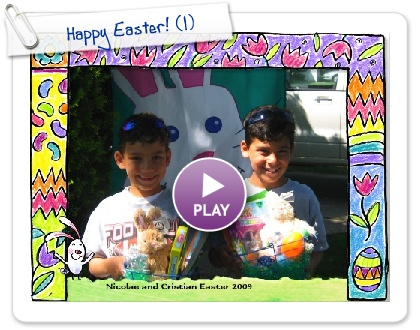 Click to play this Smilebox greeting: Happy Easter!