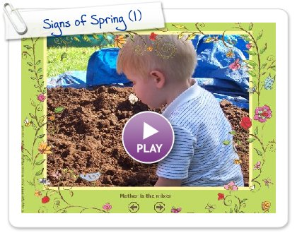 Click to play this Smilebox slideshow: Signs of Spring