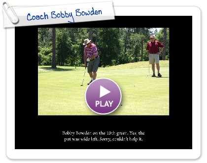 Click to play this Smilebox slideshow: Coach Bobby Bowden