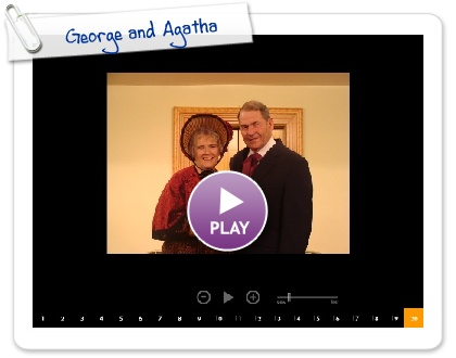 Click to play this Smilebox slideshow: George and Agatha