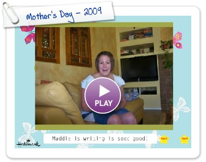 Click to play this Smilebox slideshow: Mother's Day - 2009