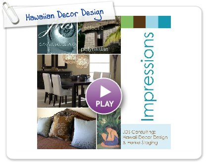 Click to play this Smilebox photobook: Hawaiian Decor Design