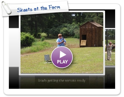 Click to play this Smilebox slideshow: Skeets at the Farm