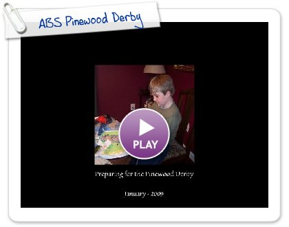 Click to play this Smilebox photobook: ABS Pinewood Derby