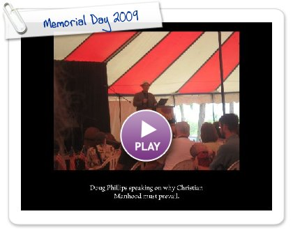Click to play this Smilebox slideshow: Memorial Day 2009