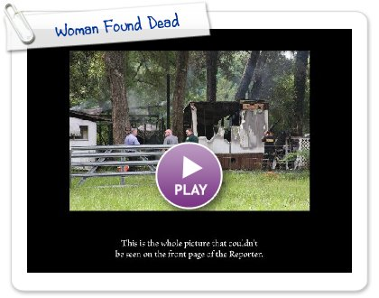 Click to play this Smilebox slideshow: Woman Found Dead