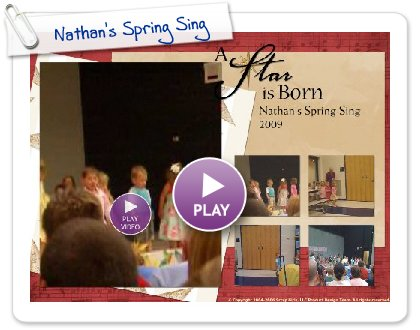 Click to play this Smilebox postcard: Nathan's Spring Sing