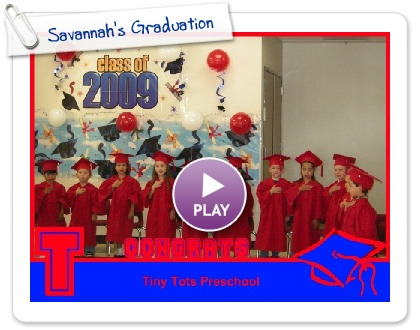 Click to play this Smilebox photobook: Savannah's Graduation