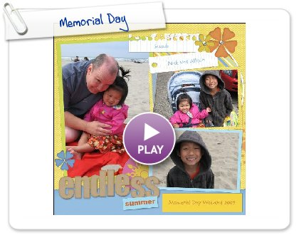 Click to play this Smilebox scrapbook: Memorial Day