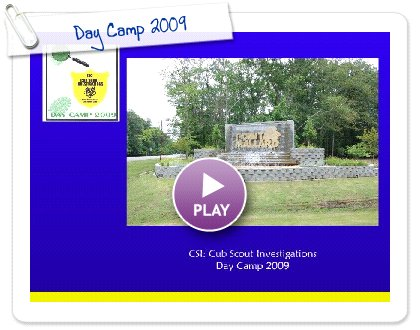 Click to play this Smilebox slideshow: Day Camp 2009