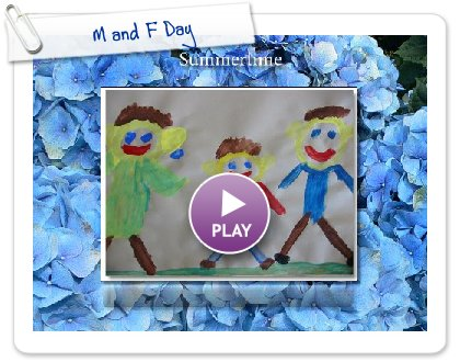 Click to play this Smilebox slideshow: M and F Day