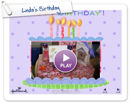 Click to play this Smilebox slideshow: Linda's Birthday