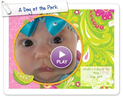 Click to play this Smilebox photobook: A Day at the Park