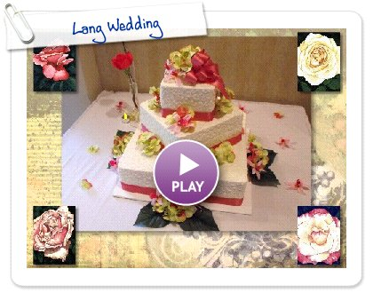 Click to play this Smilebox slideshow: Lang Wedding