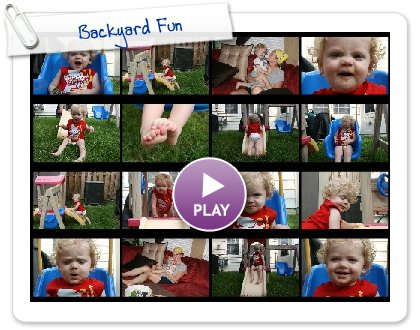 Click to play this Smilebox slideshow: Backyard Fun