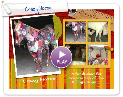 Click to play this Smilebox scrapbook: Crazy Horse