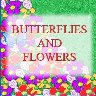 Butterflies and Flowers - Greeting