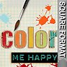 Color Me Happy - Scrapbook