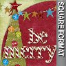 Be Merry - Scrapbook
