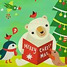 Beary Merry - Greeting
