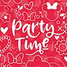 Party Time Doodles - Invite